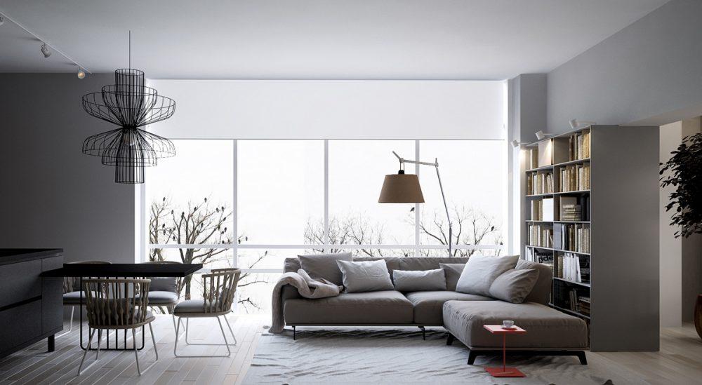single-red-accent-in-greyscale-interior-e1505962604860